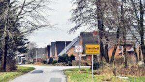 Ortseingang Löwenstedt
