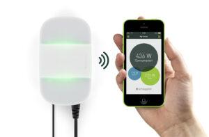 Die Daten können direkt vom Smart-Meter-Gerät auf das Smartphone übertragen werden. (Foto: Smapee)