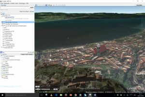 Screenshot Google Earth Pro Ueberlingen von oben