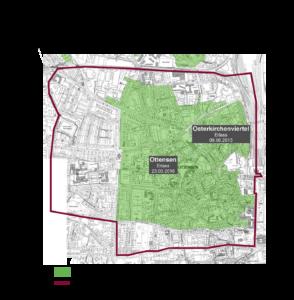 Karte Altona