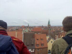 Blick auf Nürnberg